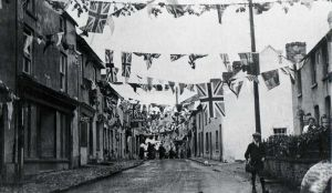High St, Talgarth July