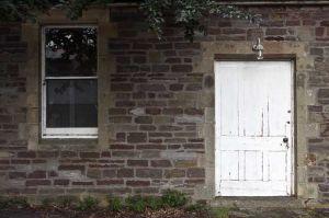 Mortuary Front Door
