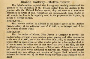 Branch railway june 1897