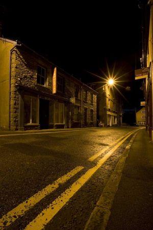 Deserted Talgarth Town
