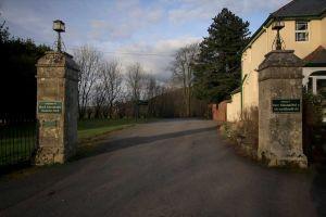 Mid Wales Hospital - Entrance
