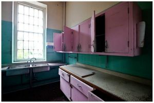 Talgarth Pink Kitchen