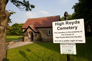 High Royds Memorial Garden - May 24, 2012