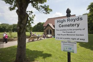 High Royds Memorial Garden Open Day - July 7, 2012