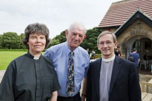 Thanksgiving Service, September 8, 2012 attended by Dr David Lee, Archdeacon of Bradford