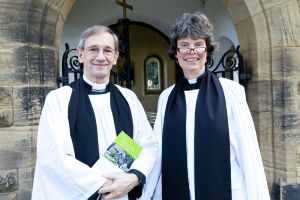 Thanksgiving Service, September 9, 2012 attended by Dr David Lee, Archdeacon of Bradford