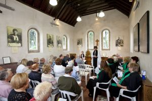 Thanksgiving Service, September 9, 2012 attended by Dr David Lee, Archdeacon of Bradford.