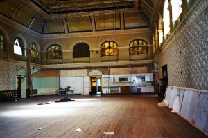 The ballroom from stage area.