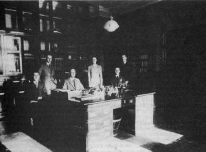 Clerk And Steward With Clerical Staff 1937 sm.jpg