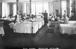 Sick ward 15, Menston 1905.