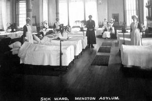Sick ward 1905 Menston.
