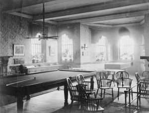 Typical male ward dayroom circa 1900