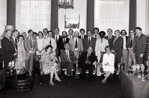 The 1979 CIBA Conference, Roy Is Seen Second From The Left