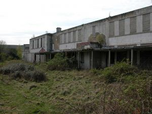 Escroft, Richmond, awaiting demolition.
