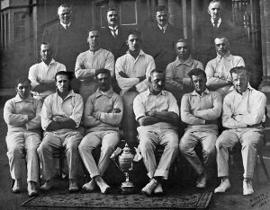 West Riding Mental Hospital athletic club cricket section 1925